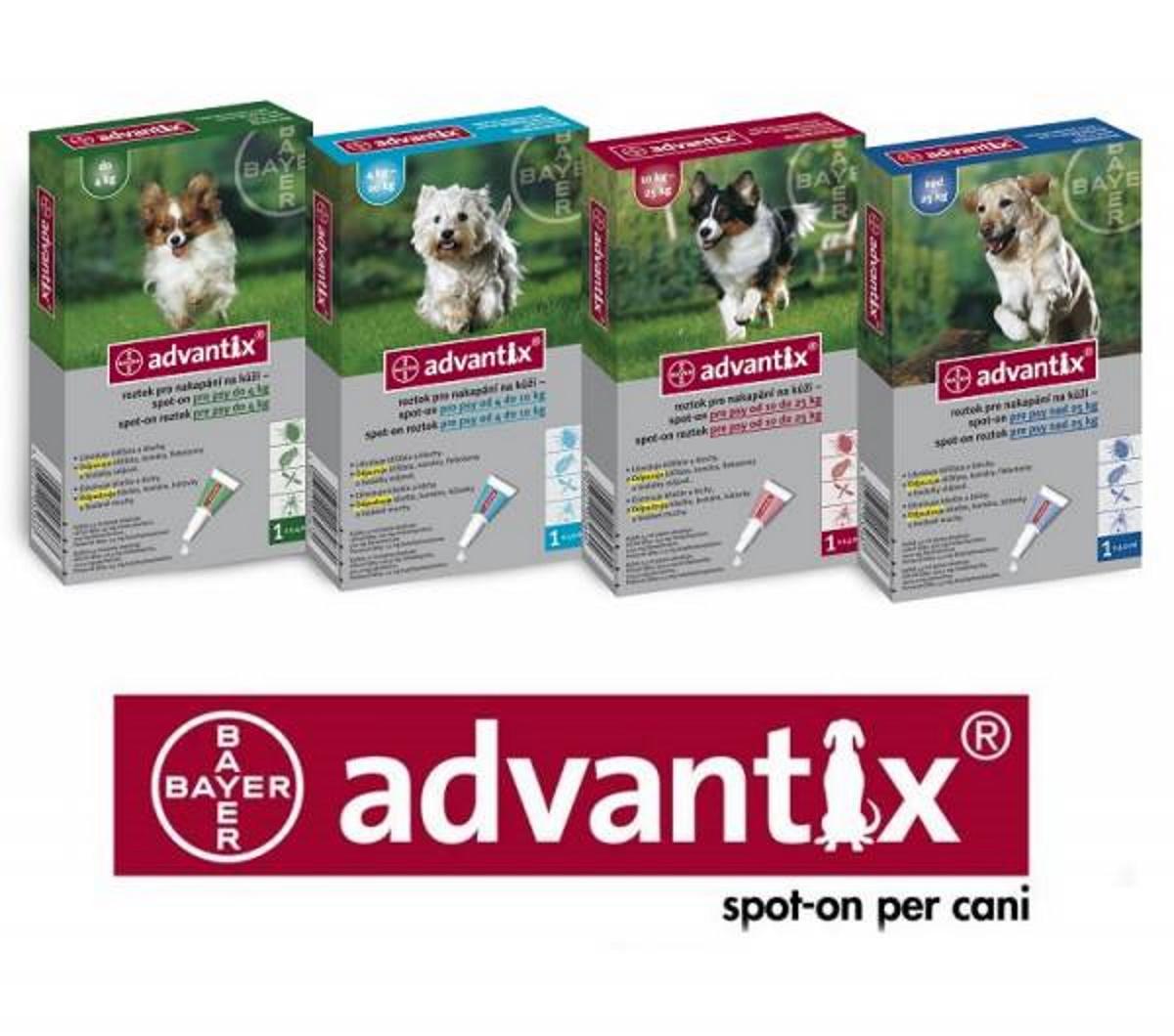 Advantix cane dopo quanto posso toccare il cane